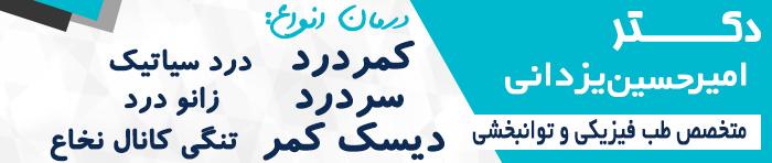 دکتر یزدانی متخصص طب فیزیکی در تهران