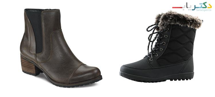 کفش بوت مناسب برای بارداری